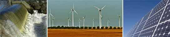 Tres ejemplos de energías renovables