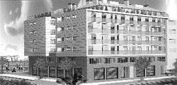 Edificio en el barrio de serrería