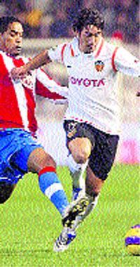 El Valencia funciona en la Copa ante el Atlético