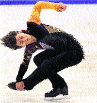Baile sobre hielo en Zagreb