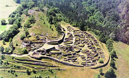El castro de Coaña es del siglo IV a. C.