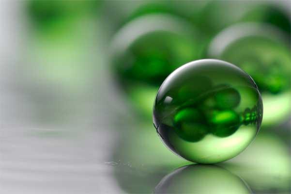 Píldoras verdes