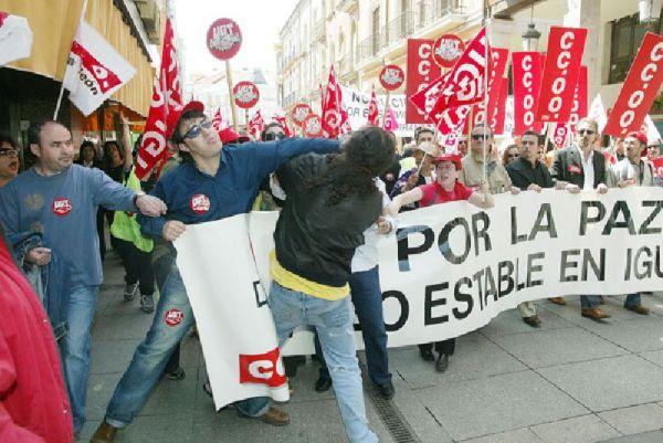Manifestación 1 mayo Palencia
