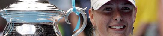 Sharapova gana en Australia