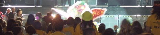 Ceremonia de elección de la Reina del Carnaval