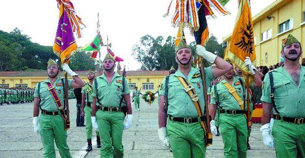 El final de la V Bandera de la Legión