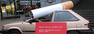 Tabaco en los coches