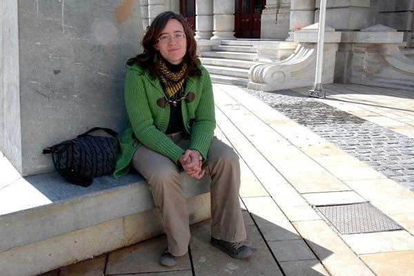 Marina Ortiz forma parte de las Brigadas Católicas de Murcia