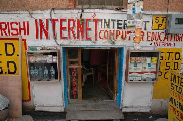 Sin Internet en India
