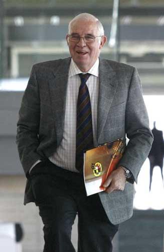 El seleccionador español, Luis Aragonés