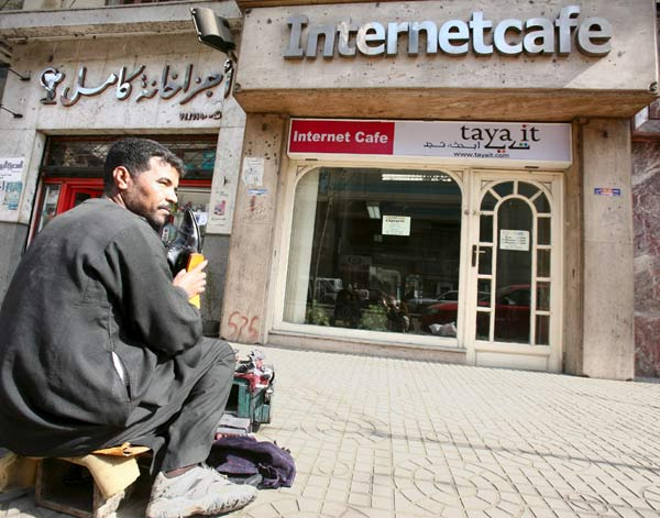 Egipto sin internet