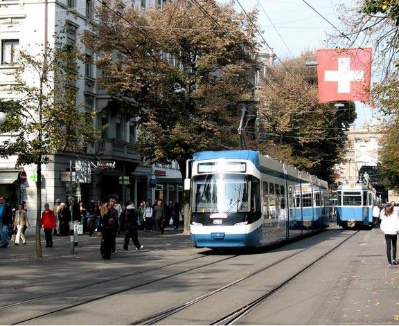 The Bahnhofstrasse, Zurich