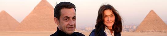 Nicolás Sarkozy y Carla Bruni