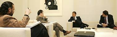Entrevista con Zapatero