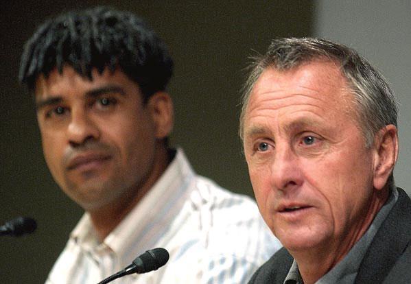 Cruyff y Rijkaard