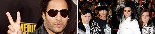 Lenny Kravitz y Tokio Hotel