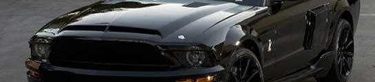Un Ford Mustang como este sería el nuevo 'Coche fantástico'.