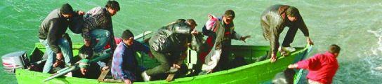 Rescatados 46 inmigrantes que viajaban en dos pateras en las costas de Almería  (Imagen: ARCHIVO)