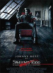 Sweeney Todd: El barbero diabólico de la calle Fleet - Cartel