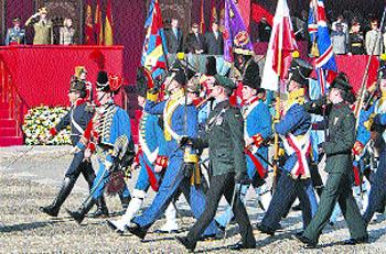 Ejércitos unidos 200 años después