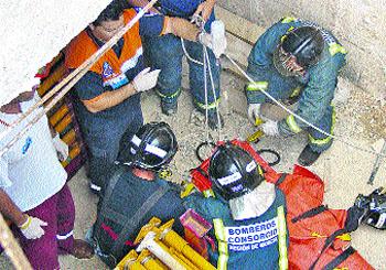 4 obreros heridos en un solo día