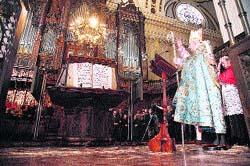 Un nuevo órgano suena en el Pilar