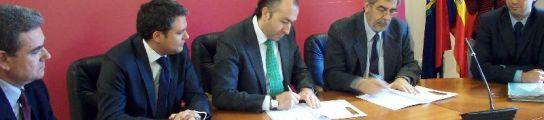 Firma del convenio con SEPES