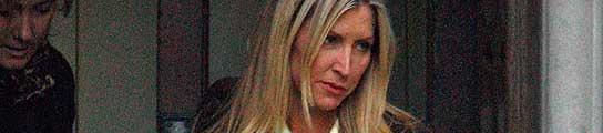 Heather Mills, abandonando la Corte Suprema de Londres.