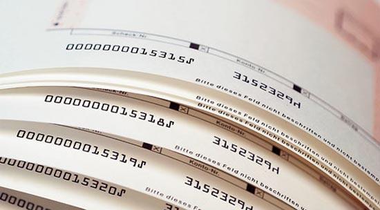 Varios cheques