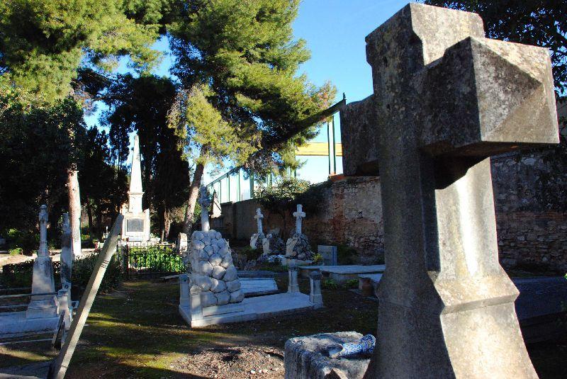 Cementerio inglés de Valencia.