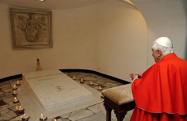 La canonización
