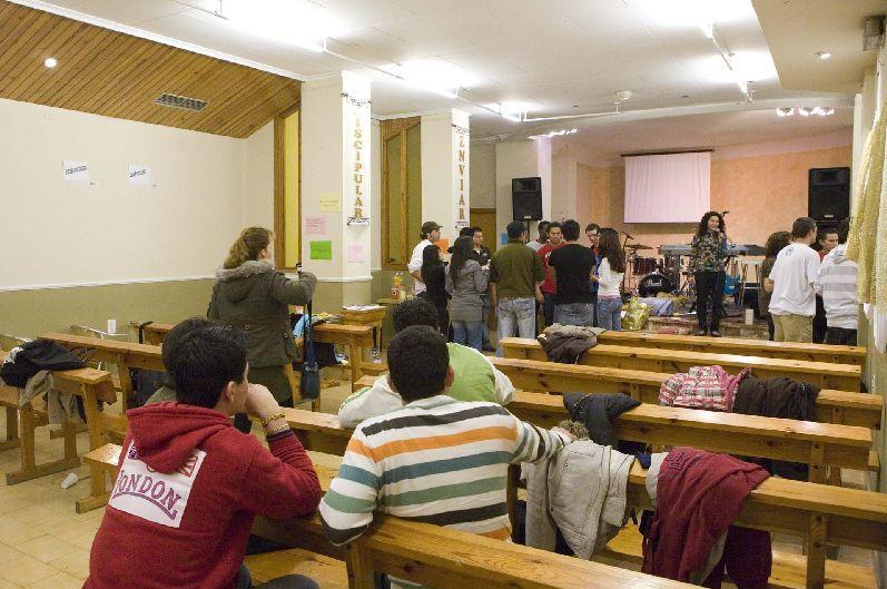 Iglesia abierta las 24 horas