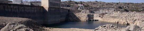 En la foto, una panorámica del embalse de Ricobayo, en Zamora.