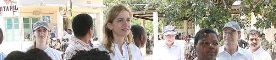 La Infanta Cristina, en Mozambique