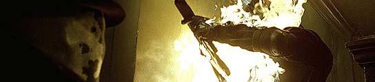 Imagen de la versión cinematográfica de 'Watchmen'.