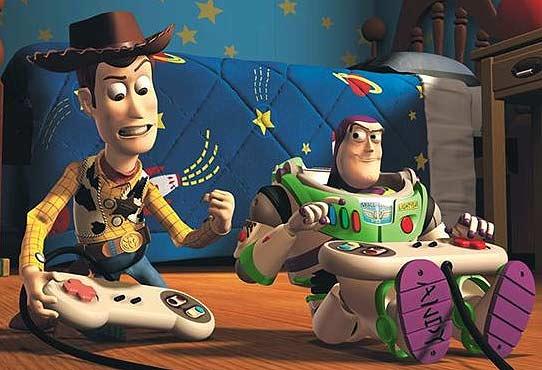 Woody y Buzz Lightyear, protagonistas de 'Toy Story'.