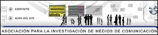 Logotipo de la Asociación para la investigación de medios de comunicación.