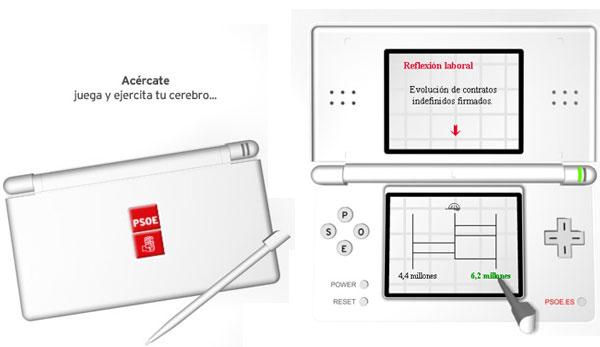 Nintendo DS - PSOE