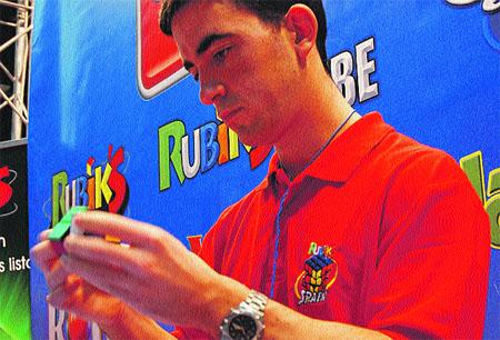 Para los más fans del cubo de Rubik
