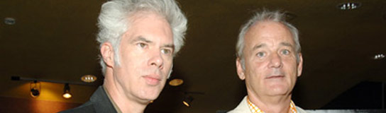 Jim Jarmusch y Bill Murray