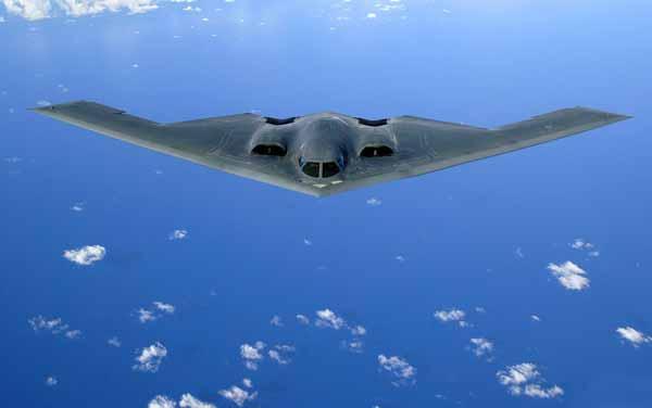 El bombardero B-2