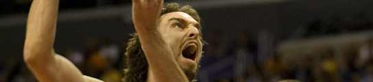 Pau, esta noche en el partido frente a los Clippers