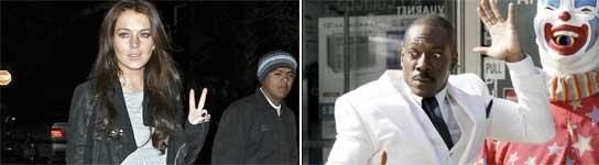 Lindsay Lohan y Eddie Murphy