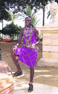 Clama por los niños Masai