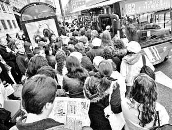 La huelga de la EMT deja colgados a 450.000 viajeros