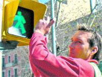 Proven llums de semàfors per il·luminar els carrers