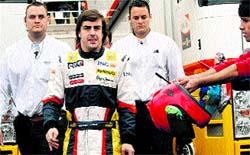 Alonso esconde su as