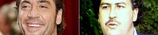 El actor español Javier Bardem (i) encarnará al narcotraficante Pablo Escóbar (d).