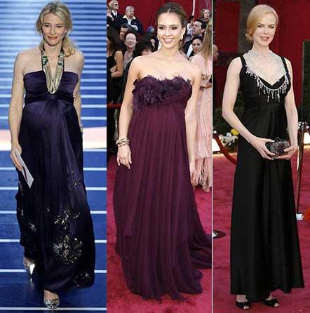 Kate Blanchett, Jessica Alba y Nicole Kidman