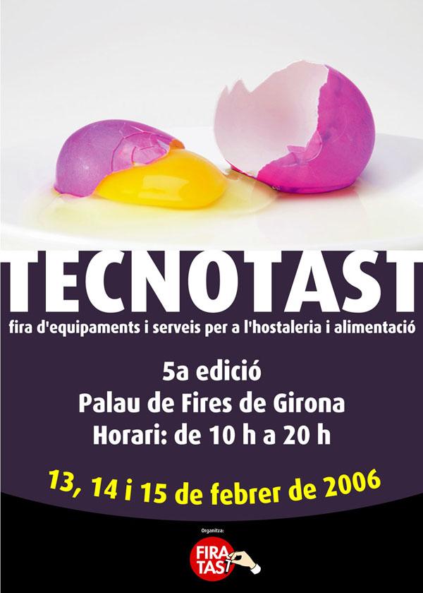 Cartel de la pasada edición de Tecnotast